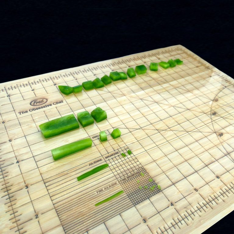 cutting-board-with-measurements-diced-vegetables-knife-skills-class-cooking-class