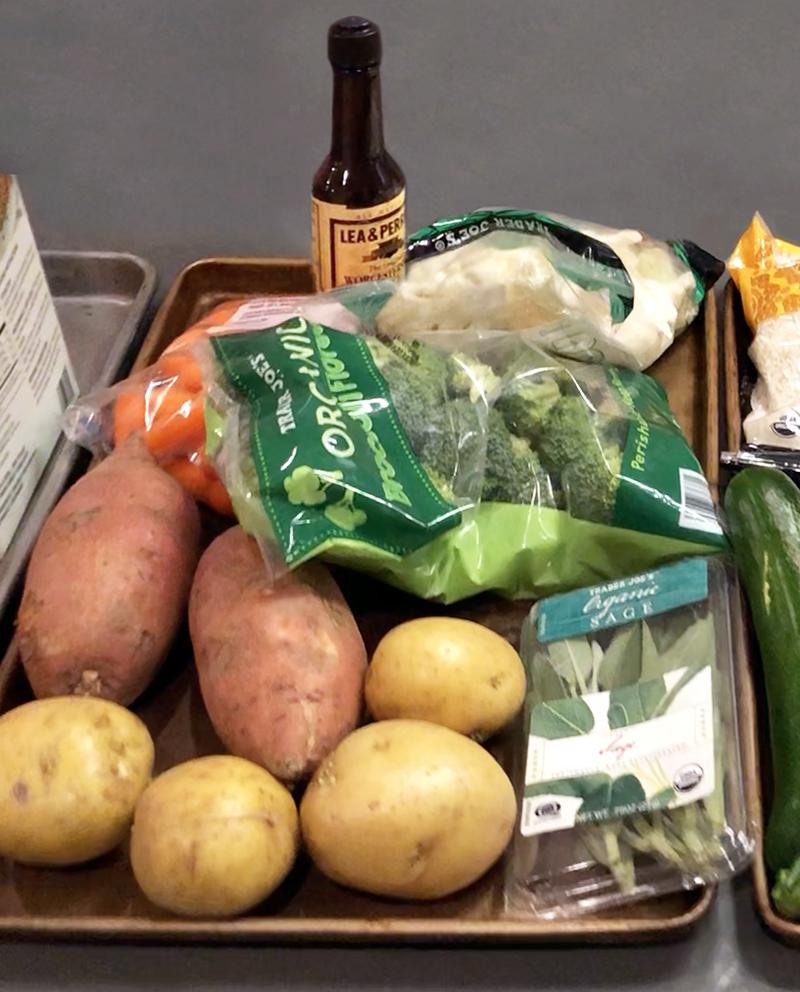 Instant pot potatoes carrots cauliflower