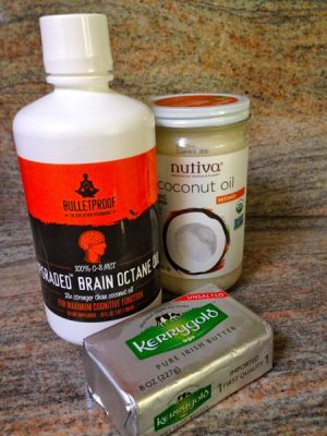 Ingredients MCT oil, butter, coconut oil